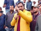 बेनीवाल बोले- किसान एक महीने से ठंड में सड़कों पर और कांग्रेस धरने की औपचारिकता निभा रही|नागौर,Nagaur - Dainik Bhaskar
