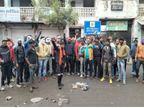 9 मांगों को लेकर सफाई कर्मचारी अड़े, शहर में नहीं लगी झाडू, कचरा भी नहीं उठाया ग्वालियर,Gwalior - Dainik Bhaskar