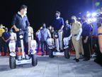 अक्षय कुमार मुंबई पुलिस को दिए गए सेल्फ बैलेंसिंग व्हीकल के उद्घाटन समारोह में पहुंचे, बोले-खुशी है कि फोर्स का मॉडर्नाइजेशन किया जा रहा बॉलीवुड,Bollywood - Dainik Bhaskar