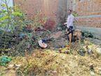 घर के पीछे मिली 5 दिन से लापता युवक की लाश|छुरा,Chhura - Dainik Bhaskar