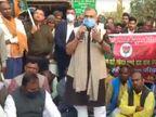 भाजपा MP सुशील जा बैठे थाने पर, बोले- बिहार पुलिस घूस लेकर हर तरफ खुलेआम चला रही शराब का धंधा|बिहार,Bihar - Dainik Bhaskar