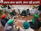 किसान बोले- कानून वापसी नहीं, तो घर वापसी भी नहीं; कृषि मंत्री बोले- ताली तो दोनों हाथों से बजती है देश,National - Dainik Bhaskar