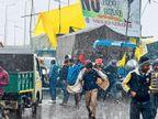 आंदोलन पर ठंड-बारिश की मार, एक दिन में 4 किसानों की मौत|हरियाणा,Haryana - Dainik Bhaskar