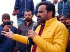 नागौर सांसद हनुमान बेनीवाल की राष्ट्रपति से अपील- केंद्र को निर्देशित कर अन्नदाताओं को राहत प्रदान करें|नागौर,Nagaur - Dainik Bhaskar