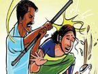 बिलासपुर में महिला समिति के सदस्यों ने शराब पीने से मना किया तो युवक ने लाठी से पीटा|बिलासपुर,Bilaspur - Dainik Bhaskar