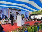 मुख्यमंत्री शिवराजसिंह चौहान ने इंदौर को दी इंटरनेशनल कार्गो की सौगात, इंदौर, पीथमपुर से रोजाना करीब 25 टन माल की आवाजाही होगी|इंदौर,Indore - Dainik Bhaskar