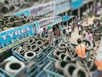 छुट्टी वाले दिन मार्केट में नगर निगम की टीम अवैध कब्जे हटाने पहुंची|चंडीगढ़,Chandigarh - Dainik Bhaskar