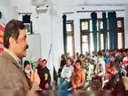 नई शिक्षा नीति के छात्र व टीचरों पर पड़ने वाले प्रभावों पर की चर्चा|पानीपत,Panipat - Dainik Bhaskar