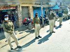 किशोरगंज में हंगामा के बाद बदली व्यवस्था, 350 पुलिस अफसरों व जवानों ने संभाली हरमू रोड की कमान|रांची,Ranchi - Dainik Bhaskar