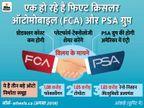 मर्ज हो रहे हैं दो बड़े ऑटो निर्माता समूह PSA और FCA, बनाएंगे दुनिया का चौथा सबसे बड़ा ब्रांड स्टेलेंटिस|टेक & ऑटो,Tech & Auto - Dainik Bhaskar