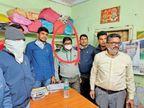 रिश्वत लेते गिरफ्तार बसेड़ा पटवारी के बैंक खातों, संपत्ति की जांच होगी|प्रतापगढ़ (उदयपुर),Pratapgarh ( Udaipur) - Dainik Bhaskar