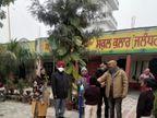पहले दिन सरकारी स्कूल में पेरेंट्स के साथ पहुंचे छात्र, प्राइवेट स्कूल अभी नहीं खुले|जालंधर,Jalandhar - Dainik Bhaskar