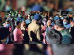 26 घंटे से बच्ची को थाना में रखने और आरोपी को जेल नहीं भेजने पर हंगामा, सीटी एसपी ने कार्रवाई का दिया आश्वासन|जमशेदपुर,Jamshedpur - Dainik Bhaskar