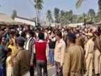 पूर्णिया में जीविका का संवाद कार्यक्रम कर रहे थे मुख्यमंत्री नीतीश, बाहर संगठन की दीदियां करने लगीं घुसने के लिए हंगामा|बिहार,Bihar - Dainik Bhaskar