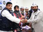 अखिल भारतीय गुर्जर महासभा समेत कई दलों और समाजसेवी संस्थाओं से जुड़े लोग आम आदमी पार्टी में शामिल|दिल्ली + एनसीआर,Delhi + NCR - Dainik Bhaskar