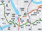 मेट्रो के लिए 806 निजी जमीन लेना बाकी, मनपा चुनाव से पहले पीएम मोदी 18 को करेंगे शिलान्यास|गुजरात,Gujarat - Dainik Bhaskar