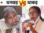 राज्यपाल धनखड़ बोले- बंगाल की सुरक्षा खतरे में, राज्य में अलकायदा ने पैर पसारे|देश,National - Dainik Bhaskar