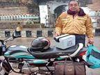 बस छूटी, ट्रेन में रिजर्वेशन नहीं; बाइक से 350 किमी दूर भोपाल सैंपल लेकर पहुंचे|मध्य प्रदेश,Madhya Pradesh - Dainik Bhaskar
