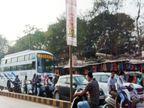 राजधानी की 5 प्रमुख सड़कें ढाई हजार बसों से इसी महीने मुक्त, 20% तक घटेगा ट्रैफिक प्रेशर|छत्तीसगढ़,Chhattisgarh - Dainik Bhaskar