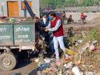 जानिए आखिर क्यों, कोटा में एक वार्ड पार्षद को बनाना पड़ा कचरा गाड़ी का हेल्पर|कोटा,Kota - Dainik Bhaskar