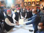 मुलायम के करीबी अहमद हसन और राजेंद्र चौधरी ने दाखिल किया नामांकन; अखिलेश यादव बोले- दोनों नेता जीतेंगे|लखनऊ,Lucknow - Dainik Bhaskar