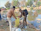 21 माैताें के बाद भी नहीं लिया सबक, खेतों में लावारिस पड़ी जहरीली शराब पीने से 3 और माैतें|मध्य प्रदेश,Madhya Pradesh - Dainik Bhaskar
