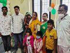सास को पहला टीका लगने की बात सुन रात में ही पत्नी-बच्चों समेत निकला दामाद, 150 किमी सफर कर सीहोर से पहुंचा इंदौर|इंदौर,Indore - Dainik Bhaskar