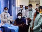 पहले दिन 66 प्रतिशत टीके लगे, 77 फीसदी के साथ कुन्हाड़ी सेंटर रहा अव्वल, मंडाना में हुआ 57 फीसदी टीकाकरण, वैक्सीन लगवाने में पुरुष रहे आगे|कोटा,Kota - Dainik Bhaskar