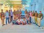 बगड़ी में अफीम के दूध के साथ 4 आराेपी गिरफ्तार, साेजत में डाेडा पाेस्त ले जा रहा एक तस्कर पकड़ा|पाली,Pali - Dainik Bhaskar