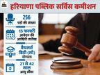 हरियाणा पब्लिक सर्विस कमीशन ने सिविल जज के 256 पदों पर भर्ती के लिए जारी किया नोटिफिकेशन, 15 फरवरी तक करें आवेदन|करिअर,Career - Dainik Bhaskar