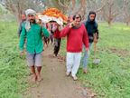 कुत्ते की शव यात्रा निकाली, याद में बनाएंगे स्मारक पूर्णिया,Purnia - Dainik Bhaskar