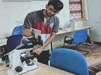 आईआईटी भिलाई में पढ़ते हुए आनंद ने स्टार्टअप कंपनी बनाई, 20 लाख का पैकेज छोड़ा, 6 बैचमेट और 20 जूनियर्स को दी नौकरी|छत्तीसगढ़,Chhattisgarh - Dainik Bhaskar