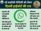 नई पॉलिसी स्वीकार नहीं तो वॉट्सऐप जॉइन मत करो, दूसरे ऐप का इस्तेमाल करो|बिजनेस,Business - Dainik Bhaskar