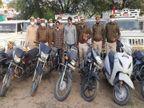 शहर में घुसते ही मोबाइल बंद कर लेती चोर गैंग; सुनसान इलाके से पहले पिकअप चुराते, फिर उसी में छोटी गाड़ियां भरकर भाग जाते|अजमेर,Ajmer - Dainik Bhaskar