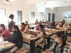 छात्राओं से बोली पुलिस- कुछ गलत हो रहा है तो घबराएं नहीं, बिना झिझक बताएं, हम आपकी मदद करेंगे|उज्जैन,Ujjain - Dainik Bhaskar