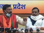 BJP विधायक केदार हजारा ने कहा- PPE किट से लेकर टेंस्टिंग के रेट में हुआ है भ्रष्टाचार|रांची,Ranchi - Dainik Bhaskar