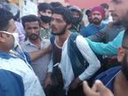 दिनदहाड़े महिला का पर्स छीन भाग रहे दो लुटेरे चढ़े लोगों के हत्थे, जमकर धुनाई कर पुलिस को सौंपा|जोधपुर,Jodhpur - Dainik Bhaskar