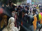 फरियादी लड़की ने खाई नींद की गोलियां, वेंटिलेटर पर, परिजनों ने पूछा- गोलियां बालिका गृह कैसे पहुंची? अस्पताल के बाहर हंगामा|भोपाल,Bhopal - Dainik Bhaskar