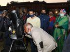 गहलोत सरकार करवाएगी चांद, तारों के दीदार; इस साल होने वाली सभी खगोलीय घटनाएं टेलीस्कोप से मुफ्त देख सकेंगे लोग|जयपुर,Jaipur - Dainik Bhaskar