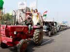किसान दिल्ली की आउटर रिंग रोड से रैली निकालने पर अड़े, पुलिस से तीसरी मीटिंग भी बेनतीजा देश,National - Dainik Bhaskar
