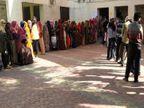 ग्रामीणों में दिखा उत्साह, 78.46 प्रतिशत मतदान, कल चुनेंगे उपसरपंच|अजमेर,Ajmer - Dainik Bhaskar