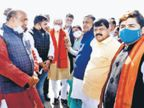 सीएम ने बीजेपी नेताओं से शहर विकास के मुद्दों पर की चर्चा|जबलपुर,Jabalpur - Dainik Bhaskar