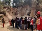 अवैध चाल धंसने से मलबे में दबकर 4 लोगों की मौत, 24 घंटे बाद सभी शव निकाले गए|झारखंड,Jharkhand - Dainik Bhaskar