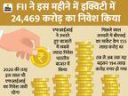 विदेशी निवेशकों ने भारतीय शेयर बाजार में 1.90 लाख करोड़ का किया निवेश|बिजनेस,Business - Money Bhaskar