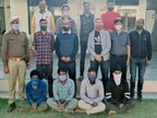 80 लाख रुपए कीमत की प्रतिबंधित लकड़ी व ट्रक जब्त, तीन अपहर्ता व ट्रक के चालक-खलासी गिरफ्तार|अजमेर,Ajmer - Dainik Bhaskar