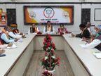 कोर ग्रुप बैठक में राजे का नहीं पहुंचना रहा चर्चा का विषय; पूनिया, सिंह को देना पड़ा स्पष्टीकरण|जयपुर,Jaipur - Dainik Bhaskar