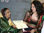 कंगना रनोट का दावा- सेरेमनी के लिए कपड़े खरीदने लायक पैसे नहीं थे, खुद डिजाइन किया था अपना सूट|बॉलीवुड,Bollywood - Dainik Bhaskar