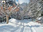 हिमाचल के 4 जिलों में तापमान माइनस में, राजस्थान के आबू में पारा फिर जीरो हुआ देश,National - Dainik Bhaskar