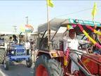 बीकानेर में गांवों से निकले किसान, ट्रैक्टरों पर लगाए साउंड सिस्टम; पूरे शहर में कल होगा प्रदर्शन बीकानेर,Bikaner - Dainik Bhaskar