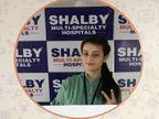 शैल्बी हॉस्पिटल में सेल्फी पॉइंट, डॉक्टर बोले - टीके को जश्न की तरह ले रहे, सदी की सबसे बड़ी महामारी इसके साथ खत्म हो रही|इंदौर,Indore - Dainik Bhaskar